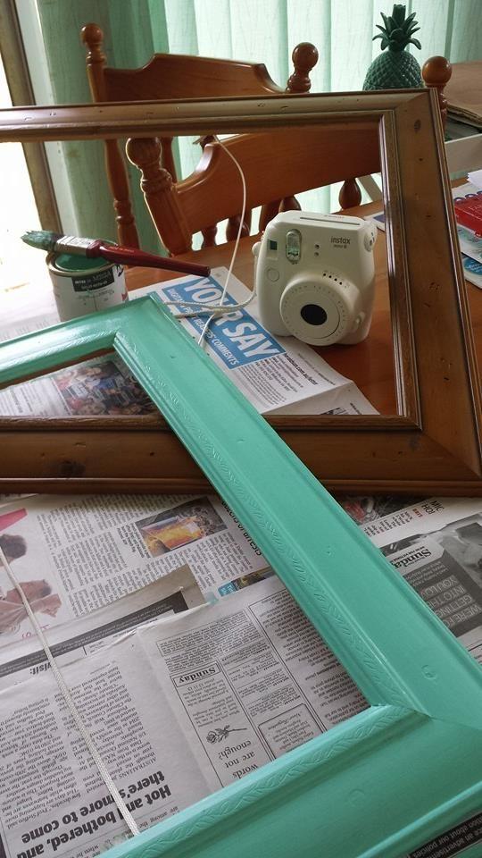 "Making a ""polariod"" photo frame 4 of 6"