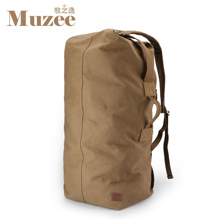 Muzee Huge Travel Bag Large Capacity Men backpack Canvas