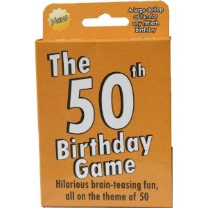 50th Birthday Party Games - A sample of good ideas for games.