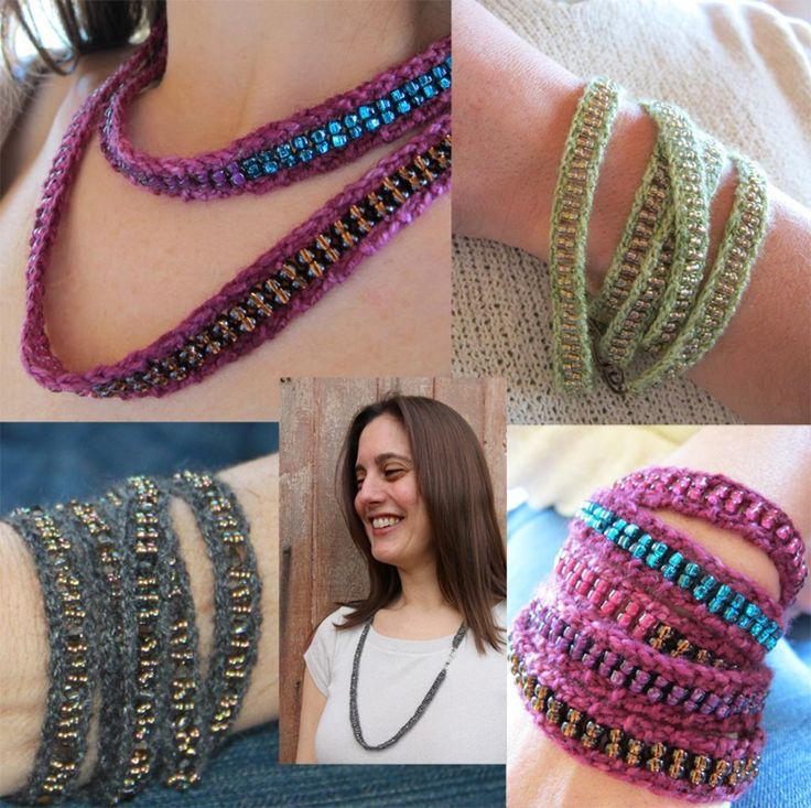 Knitting Tutorial - Tips for using beads in knitting from Craftsy Blog.