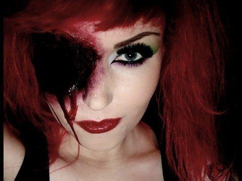▶ Eyeless Horror Makeup Tutorial - YouTube