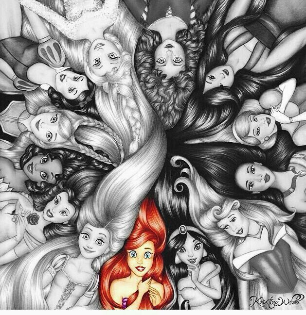 Which Disney princess are you most like? I got Ariel