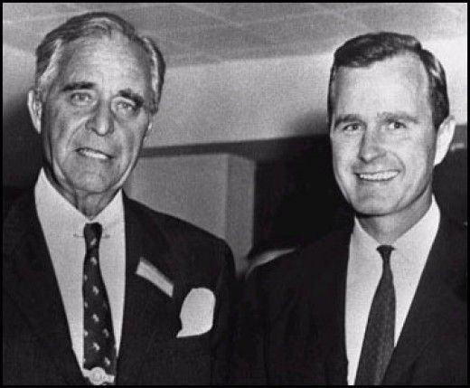 The Apple doesn't fall far from the tree - history of criminal Bush control begins here - Prescott Bush - His Life And Deeds - Founder Of The Bush Dynasty Of American Politicians.