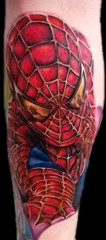 Badass Comic Book Tattoos - Inked Magazine | Tattoos ...