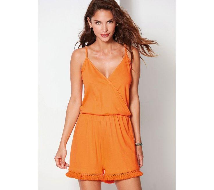 Pyžamový krátký overal | modino.cz #modino_cz #modino_style #style #fashion #summer #overal
