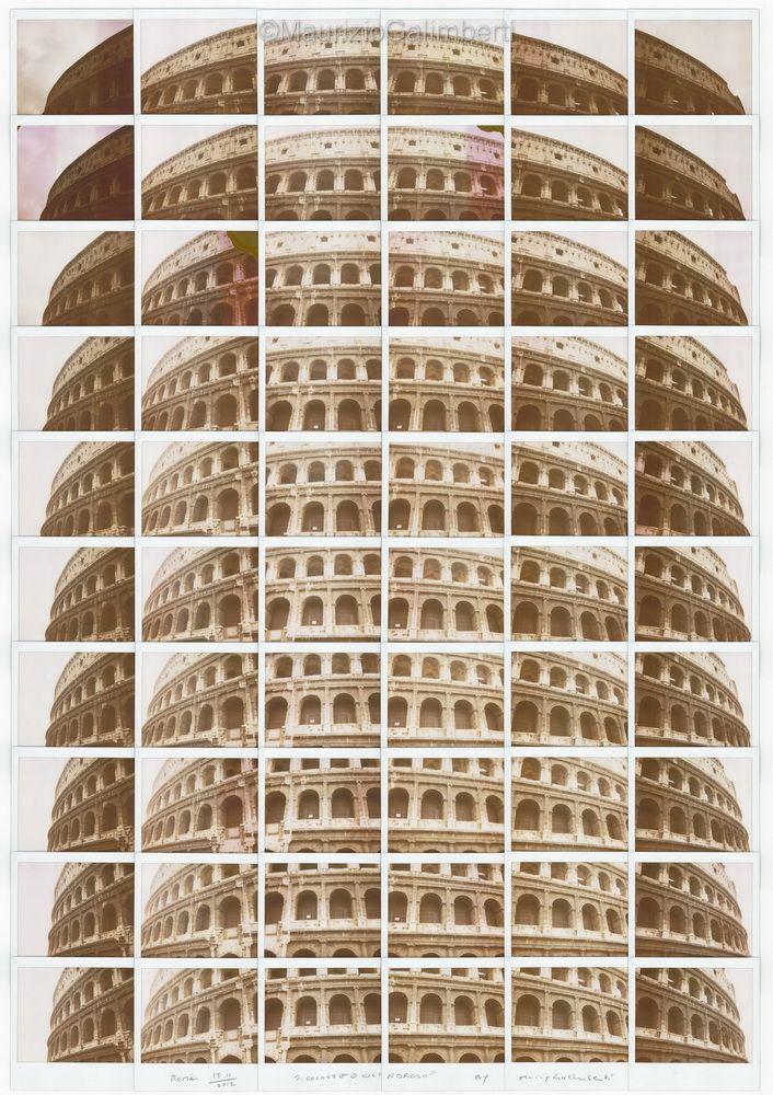 Polaroid Portraits; by, Maurizio Galimberti &;; (s: trendland)