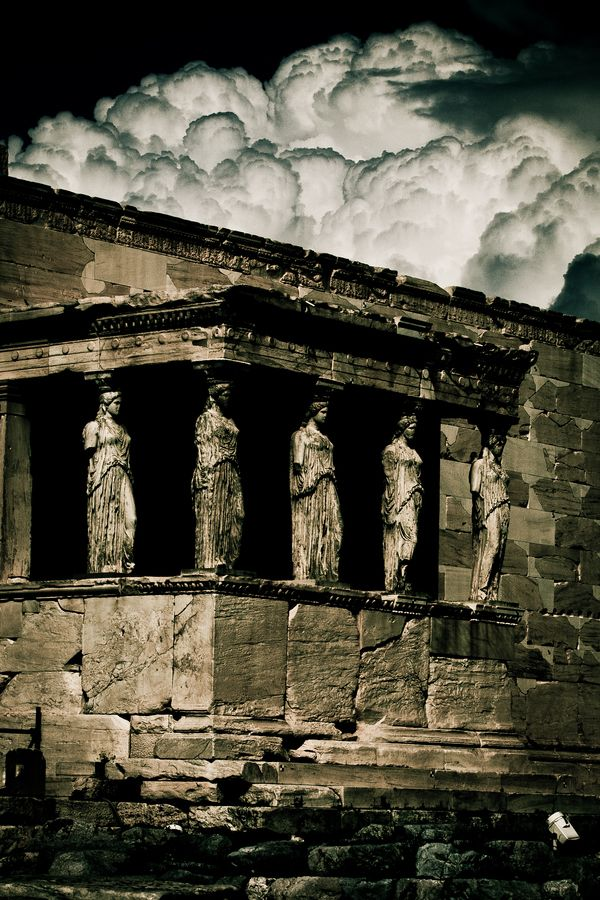 Porch Of The Caryatids - Athens, Greece