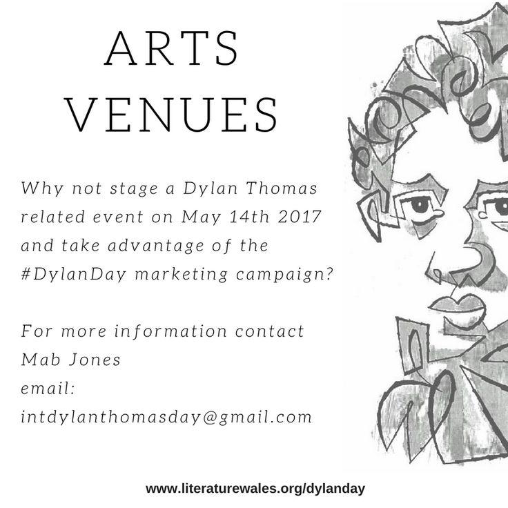 #DylanThomas #DylanDay International Dylan Thomas Day - May 14th