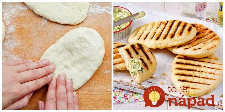 Voláme to chlebík z grilu. Tieto chrumkavé chlebové placky chutia výborne a na grilovačku sú ako stvorené. Upečiete ich jednoducho na grile, stačia 3 minúty z každej strany a je to!