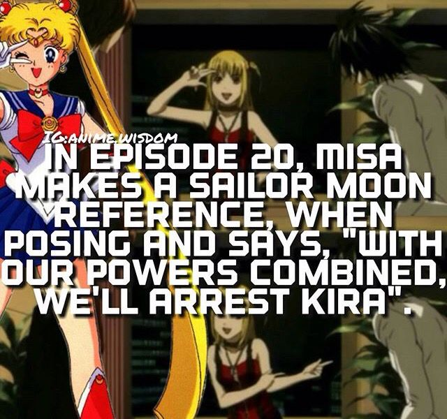 """Sailor Moon"" and ""Death Note."" HOW did I miss this reference?"