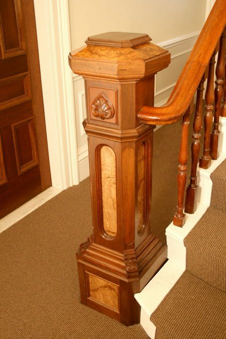 Newel Post Newel Post For Staircase Design Stair