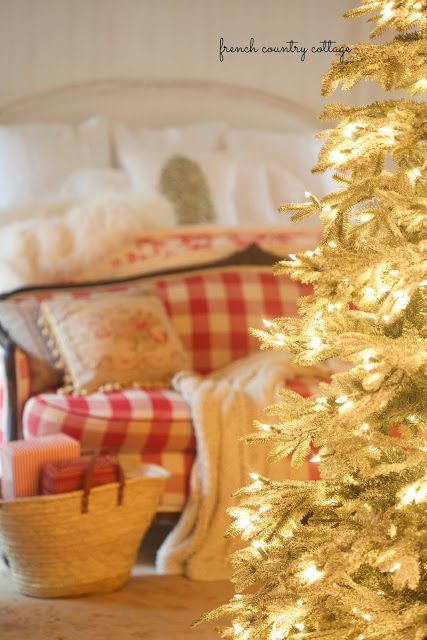 Simple early Christmas touches - FRENCH COUNTRY COTTAGE