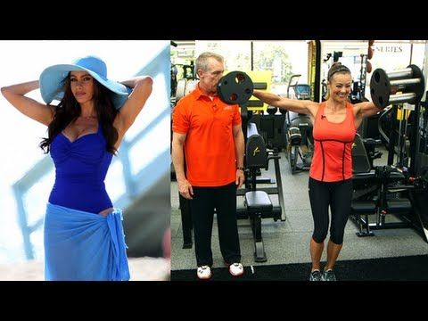 Sofia Vergara is definitely having a stellar year, and we think the actress is looking downright hot in everything she does. We caught up with her trainer Gunnar Peterson to learn more about Sofias fitness routine. Gunnar definitely puts her through the paces with many challenging full-body moves using all sorts of equipment. Take a peek at Gun...