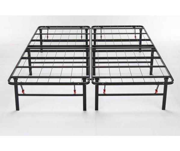 Mattress Firm Deluxe Raised Metal Platform Frame Easy Assembly
