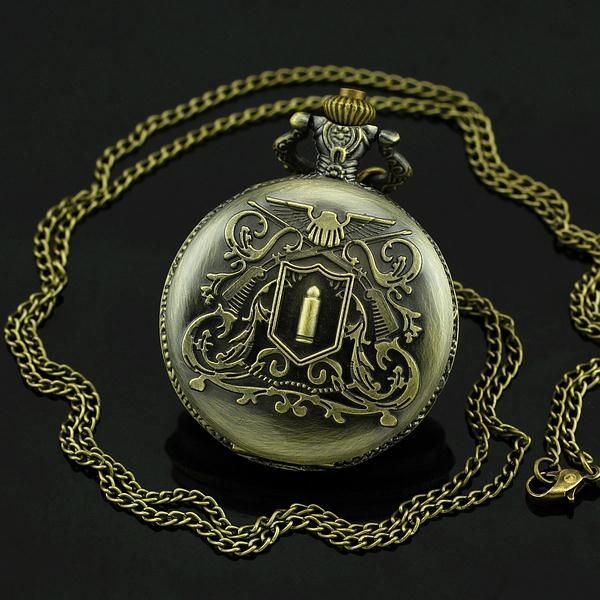 New Antique Big Size Pocket Watch For Xmas Gift Vintage Watch Fashion & Leisure Necklace Pocket Watch relogio de bolso