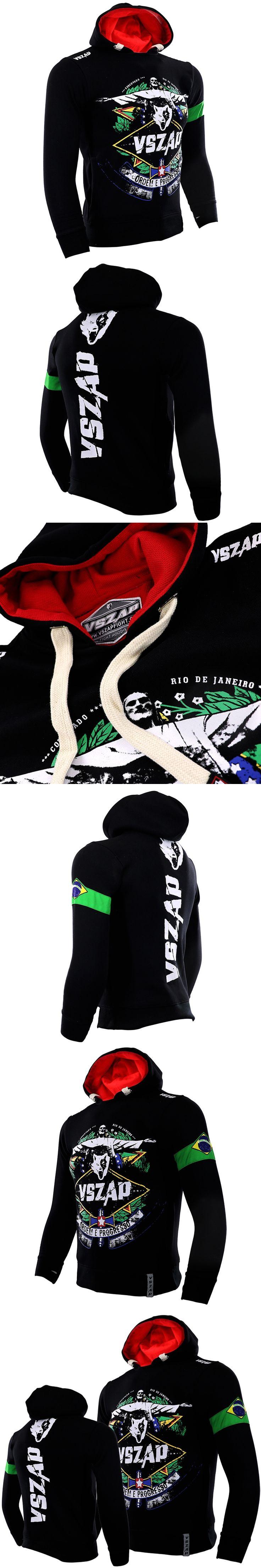 VSZAP hoodies male long sleeved jacket men movement MMA Sweatshirts supreme hoodie Sporting Men's Clothing