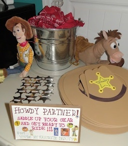 Woody Party Decorations Toy Story Party Sherif hats