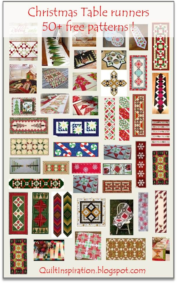 It's Christmas in July! In today's post we're featuring 50 free patterns for table runners, table toppers and place mats. It's beginning t...
