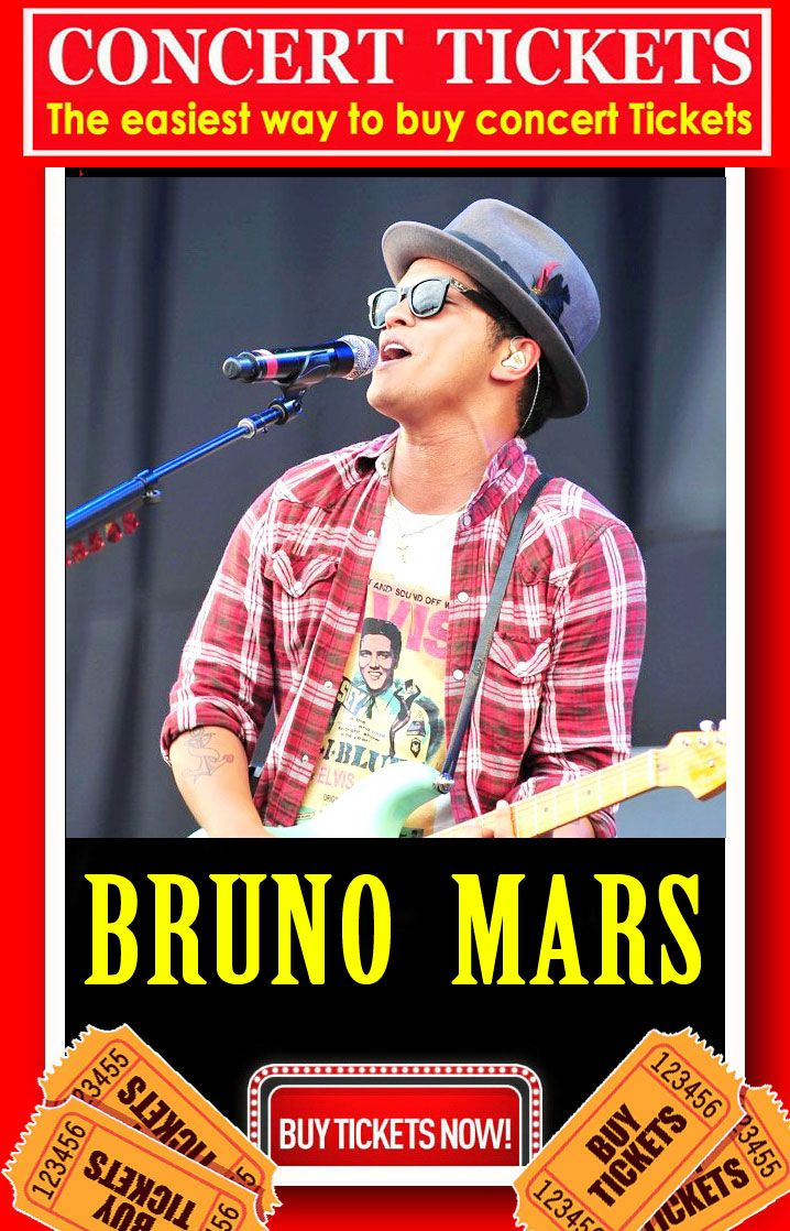2020 Bruno Mars Tour BRUNO MARS   Tour 2018   2019, The easiest way to buy concert