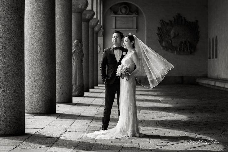 Bröllopsfotograf i Stockholm stadshus - JohnHellstrom.se