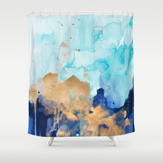 Customize your bathroom decor with unique shower curtains designed by artists…                                                                                                                                                                                 More