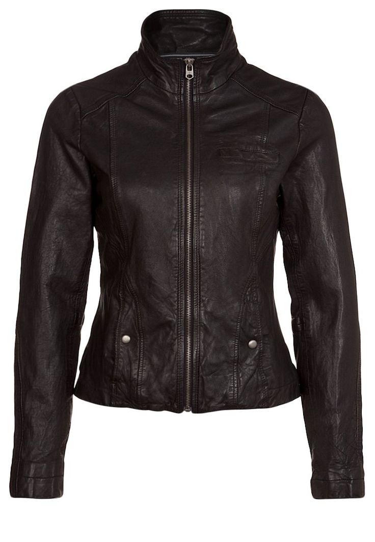 Marc O'Polo Leather jacket black