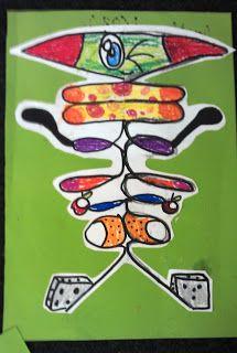 ARTventurers - art and crafts for kids: Name art!