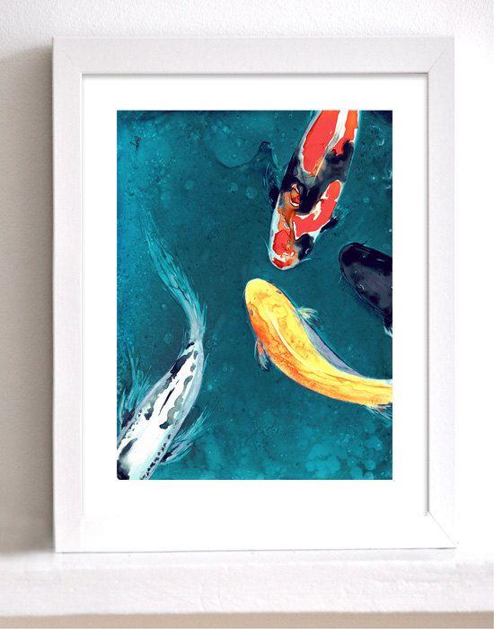 1000 images about koi fish art on pinterest koi art for Japanese koi painting