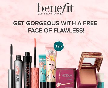 FREE Benefit Cosmetics Products for referring friends