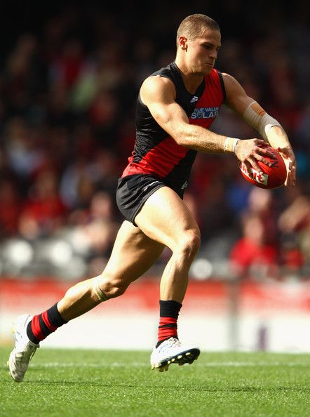 David Zaharakis from the Essendon Bombers
