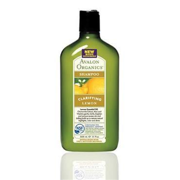 Avalon Organics Lemon Clarifying Shampoo 325ml | Nourish Health & Beauty Store