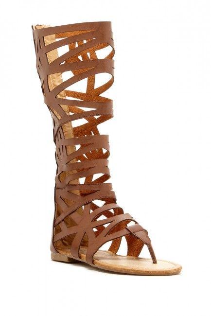 Bucco Viviar Long Gladiator Sandal