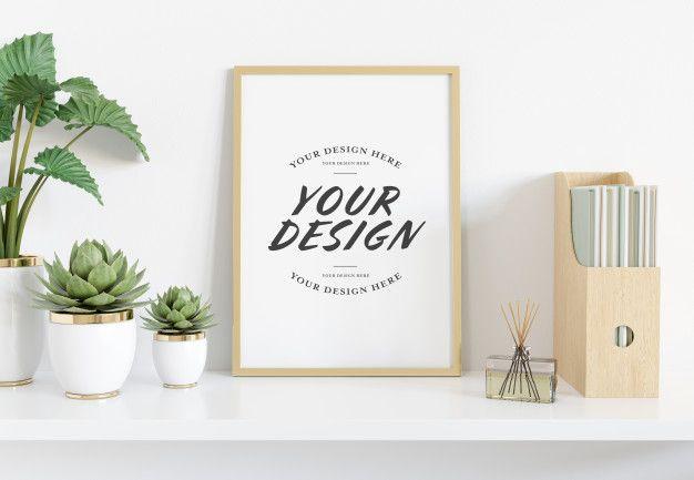 Sendo assim, selecionamos uma coleção com 20 mockups em psd para você deixar seus cartazes mais realistas. 75 Ideias De Mockups Molduras Vazias Enquadramento De Fotografia Imagens De Design De Interiores