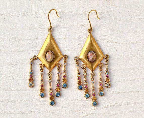 Anastasia  Italian Vintage Jewelry Swarovski di SmeraldaVintage