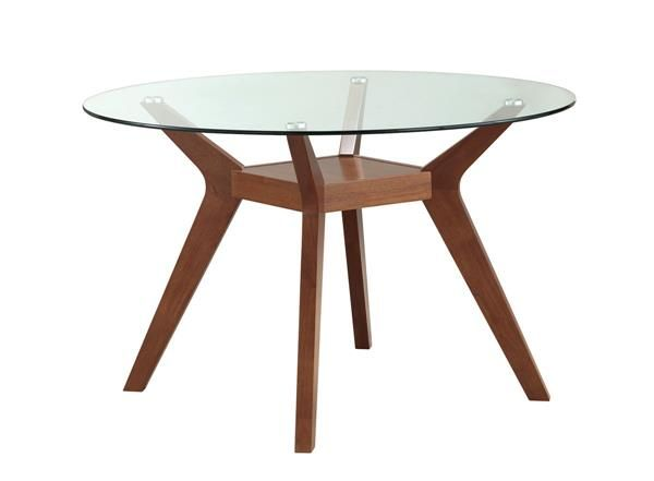 Simple Round Glass Tables Table Dining And Chairs Theflowerlab