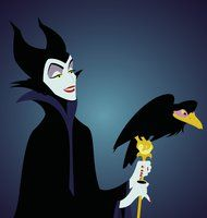 Maleficent and Diablo by Alex2424121