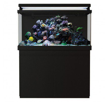 Red Sea MAX 500 S-Line Reef Aquarium System with Stand - Black - 135 gal