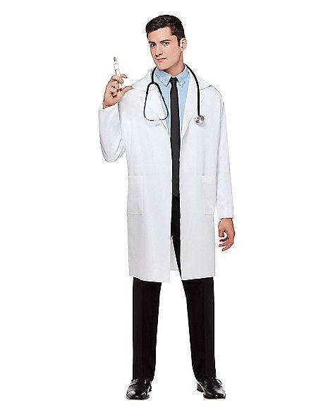 Adult Lab Coat Doctor Costume - Spirithalloween.com