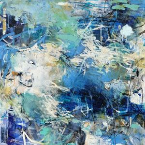 """SOLD • EVERY SECOND COUNTS 36""""h x 36""""w"""