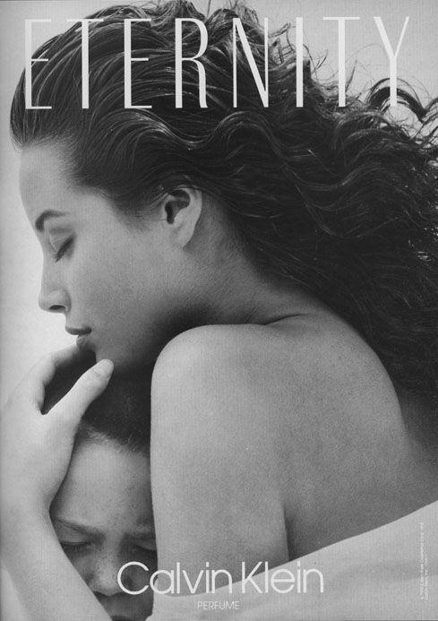 Calvin Klein / Eternity / photo by Bruce Weber