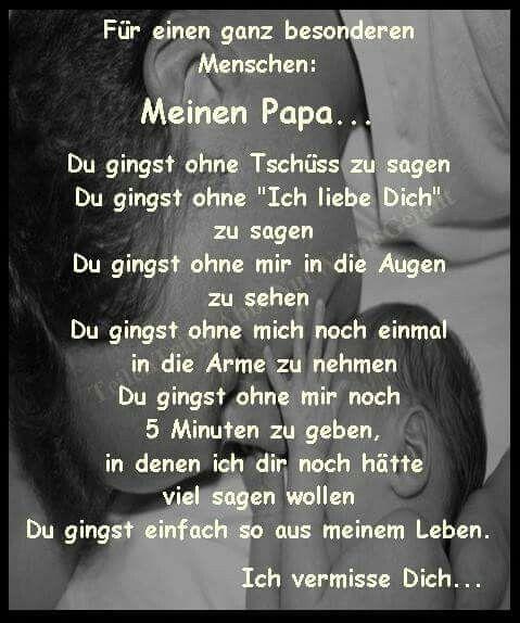 Perfekt Meinen Papa.