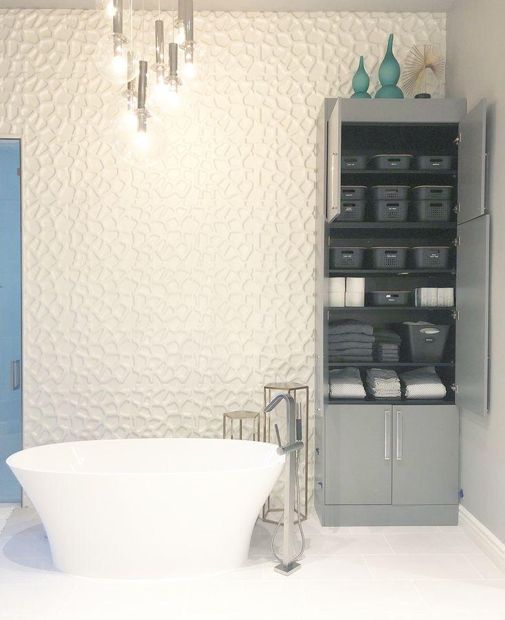 59 Best Neat Bathrooms Images On Pinterest  Bathroom Organization New Bathroom Remodel Stores Design Decoration
