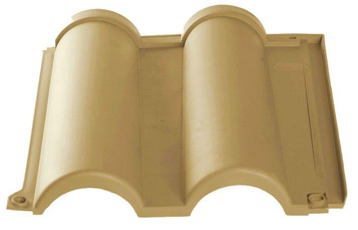 Tuile Romane jaune paille isolante pour toiture légère garantie 10 ans