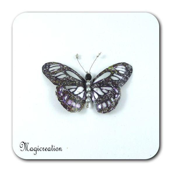 MAGNET PAPILLON JUPITER - Boutique www.magicreation.fr