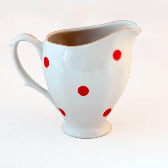 Polka Dots creamer