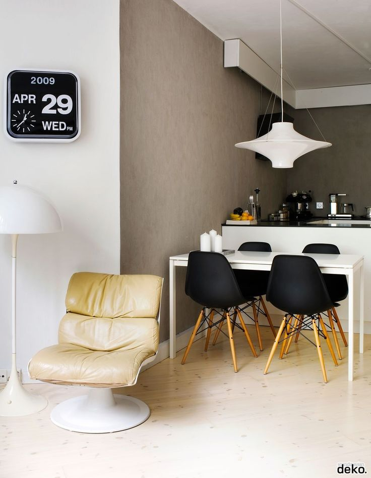 Eames chairs in dining
