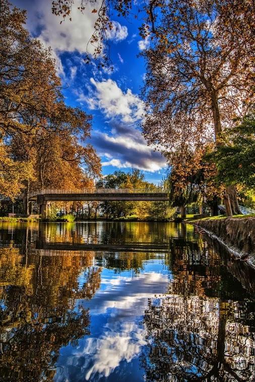 Le canal du midi a Castelnaudary