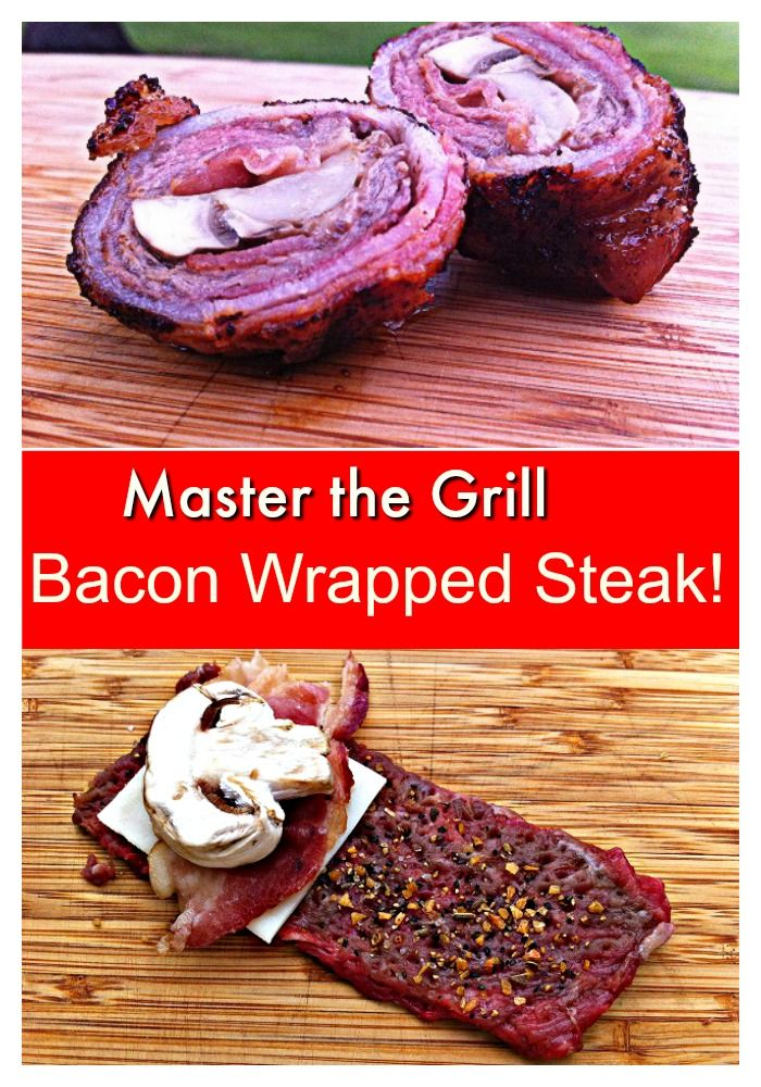Take your Grill Skills to the next level with this simple but amazing Bacon Wrapped Steak Bite recipe!