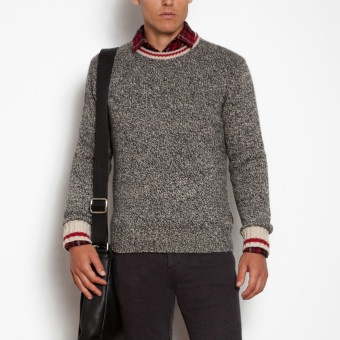 The Cabin Crew Sweater is inspired by our classic Cabin Sock. Made from a wool blend that provides superior warmth. Roots - Cabin Crew Sweater, $88 #CDNGetaway