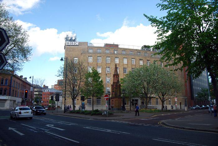 BBC in Belfast, Northern Ireland